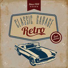 vintage retro car badge - Google Search