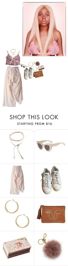 """""""283· crush on you"""" by poolboy ❤ liked on Polyvore featuring Child Of Wild, Faith Connexion, adidas, GUESS, Shandell's and MICHAEL Michael Kors"""