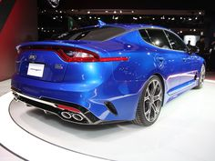 2018 Kia Stinger Gets Real - Kelley Blue Book