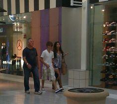 "May 29, 2011: Selena at the Parks Mall with Justin Bieber in Arlington, Texas. """