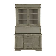 Casa Florentina San Marino Secretary Desk with Hutch