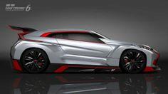 2014 Mitsubishi XR-PHEV Evolution Vision GT 6 Side Exterior