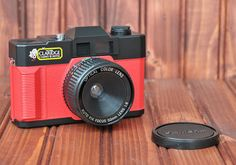 CAMERA RED 35mm Vintage near mint condition by highplacesphotos, $35.00