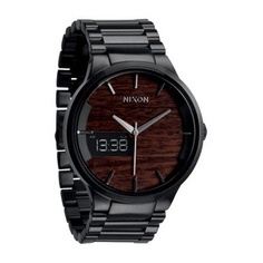 Dark Wood / Black Spencer Watch by Nixon