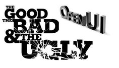 Siebel OpenUI - the good, the bad and the ugly