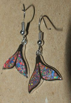 fire opal earrings gemstone silver jewelry modern abstract drop/dangle style E4A #DropDangle