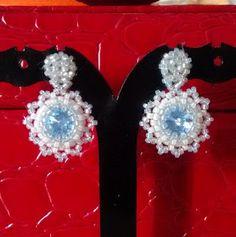 Passione Perline: Orecchini Rivoli 8mm
