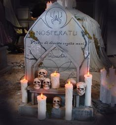 Halloween Discussion Forum, Haunts and Home Haunt Community. Halloween Tombstones, Halloween Graveyard, Halloween Forum, Halloween Candles, Halloween Projects, Halloween Crafts, Halloween Decorations, Halloween Party, Halloween Coffin