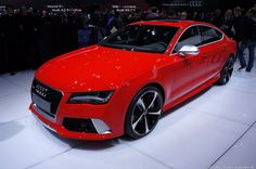 2013 Audi RS 7 Sportback... I'm honestly in love with this car.