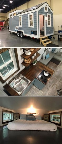 The Sweetgrass tiny house from Driftwood Homes USA