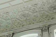 Staircase Hall plasterwork, Kinmel Hall.