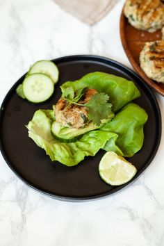 These Chicken Burger Lettuce Wraps Are My New Weeknight Go-To
