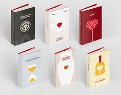 explore-blog:  Book covers for literary classics,Valentinified. (ᔥQuipsologies)