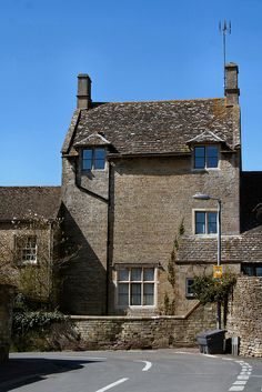 Cotswold village of Northleach, England