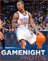 Player Page - Eric Maynor   THE OFFICIAL SITE OF THE OKLAHOMA CITY THUNDER