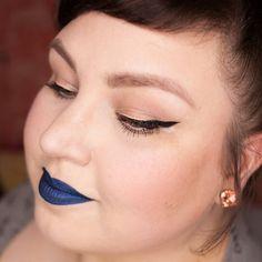 Aus meinem gestrigen #Makeup-Post auf www.magi-mania.de - hatte zwei Bilder vergessen. Da sieht man dem #ColouredRaine #BlueDragon #metallic #LiquidLipstick und den coolen Schnäppchen-#Eyeliner noch besser... #BlaueLippen nur nice anzusehen oder führt ihr sie regelmäßig aus?…