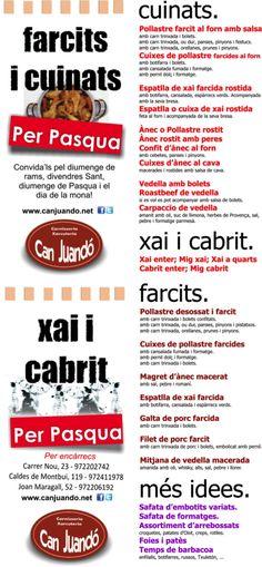 Nueva entrada en el blog de Can Juandó. Espectacular receta de Cabrito para esta Semana Santa!!! @CanJuando