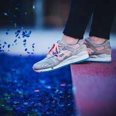 Sneakers Femme - Ronnie Fieg X Asics Gel Lyte III Flamingo