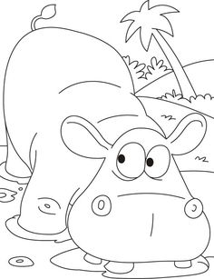 baby jungle animals coloring pages | spencer's 1st birthday ... - Cute Jungle Animal Coloring Pages