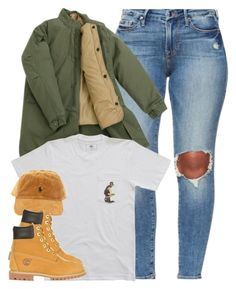 """""""Poetic Justice."""" by cheerstostyle ❤ liked on Polyvore featuring Timberland"""