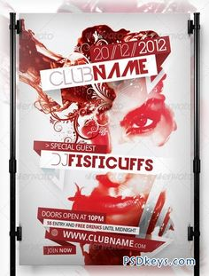 40 Creative Party and Club Flyers | Flyer | Pinterest | Brochures ...