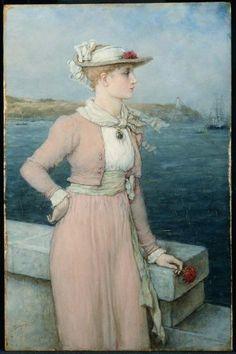Sea Breeze (c. 1880) - George Henry Boughton