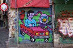 #streetart #Palermo Palermo Italy, Italy Street, Pinball, Graffiti, Art, Graffiti Artwork, Street Art Graffiti