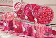 Excited to share the latest addition to my shop: Party in a Box Large Candy Buffet Barbie Birthday Party, Birthday Candy, Barbie Party, Baby 1st Birthday, Pink Birthday, Sweet Table Decorations, Girl Birthday Decorations, Pink Candy Buffet, Candy Table