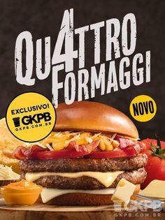 26f6182ec2ac1 Quattro Formaggi  McDonald s lança sanduíche sabor 4 queijos