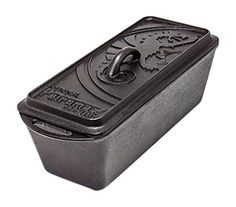 Petromax loaf pan is for cooking bread, cakes, casseroles & more outdoors. The lid of the cast-iron mould can be stocked with embers or briquettes, creating a comfortable warmth just like a Dutch oven. Perfect for caravanning, camping & picnics. Cooking Bread, Fun Cooking, Outdoor Cooking, Bread Baking, Pan Bread, Loaf Pan, Bread Cast, Baking Tins, Cast Iron