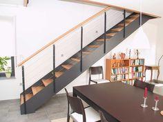 HPL-Treppe im Wohnraum