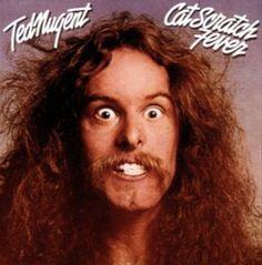 Ted Nugent - Cat Scratch Fever Album Cover