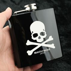 Creative Gift For Man Wine Set Related Products Of Mastermind Japan  Fasionale Stainless Steel Metal 6 Ounce Portable Hip Flask 54caf5261ee1