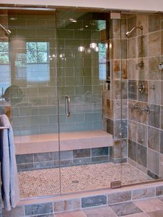 Bathroom Large Subway Tile Shower Design, Pictures, Remodel, Decor and Ideas