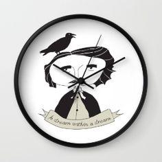 Kunda | Society6 Objects, Clock, Wall, Home Decor, Watch, Decoration Home, Room Decor, Clocks, Walls