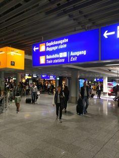 7:20 Uhr: Frankfurt Airport