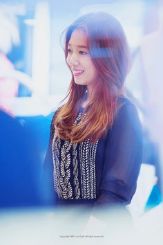Park Shin Hye attending BRUNOMAGLI Fansign Event