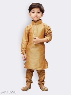 Checkout this latest Kurta Sets Product Name: *Ethnic Kid's Boy's Kurta Sets Vol 12* Sizes:  6-12 Months, 9-12 Months, 12-18 Months, 18-24 Months, 0-1 Years, 1-2 Years, 2-3 Years, 3-4 Years, 4-5 Years, 5-6 Years, 6-7 Years, 7-8 Years, 8-9 Years, 9-10 Years, 10-11 Years, 11-12 Years, 12-13 Years, 13-14 Years, 14-15 Years Country of Origin: India Easy Returns Available In Case Of Any Issue   Catalog Rating: ★4.2 (298)  Catalog Name: Ethnic Kid's Boy's Kurta Sets Vol 12 CatalogID_656204 C58-SC1170 Code: 265-4535992-9971