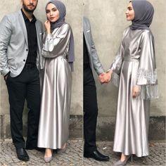 Pinterest: @çikolatadenizi Instagram: @cmelisacm9 Hijab Prom Dress, Hijab Evening Dress, Hijab Style Dress, Hijab Wedding Dresses, Casual Hijab Outfit, Muslim Dress, Hijab Chic, Prom Dresses, Abaya Mode