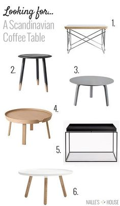 Looking for a Scandinavian Coffee Table | Nalle's House | Bloglovin'