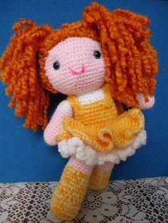 Ginger ,  linea de muñecas tejidas