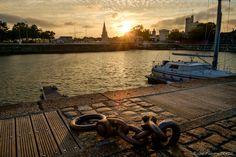 La Rochelle - Bassin des Chalutiers by Fabrice DENIS on  500px Coucher de soleil sur les Tours