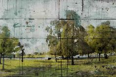 Green Park by Irena Orlov Painting Print on Wrapped Canvas
