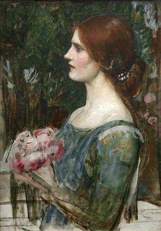 fleurdulys:  The Bouquet - John William Waterhouse