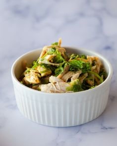 We're in a frenzy getting read for back to school and sending kids off to college. Simple, dorm friendly meals have been a constant topic and @queereye inspired us to make this super easy rotisserie chicken salad. We made it with 1 whole rotisserie chicken, 1 bunch cilantro, 1 Original Know Brainer creamer, 1 medium lemon,  2 cloves minced garlic, 1 Tbs Turmeric, and Salt/Pepper to taste. You can also add spaghetti squash and/or sweet potatoes for added veggies. Adding those veggies makes it #ke Brain Boosting Foods, Rotisserie Chicken Salad, Tbs, Spaghetti Squash, Turmeric, Cilantro, Sweet Potato, Super Easy, Dorm