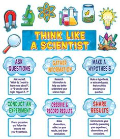 """Remind students of the steps of the scientific method. The teacher's guide suggests several science project ideas. Header piece measures 21"""" x 6"""". 21 pieces.This product is acid-free per industry standards; contact us for technical information."""