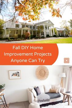 Fall season is the best time to get your property ready for the harsher months, with DIY home improvement projects. Winterize your home and prepare it for the coming months with our easy home improvements.
