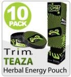 TeaZa Herbal Energy Pouch-Power Tower! LOVE these! Great gift for any man in your life!!!!! www.trimnutrition.com