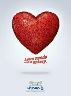 Les 20 meilleures publicités pour célébrer la Saint Valentin !