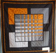 Love this graphic quilt.